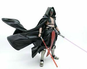 No Figure Black Cape With Hat /& Skirt for Black Series Rey Dark Side Vision