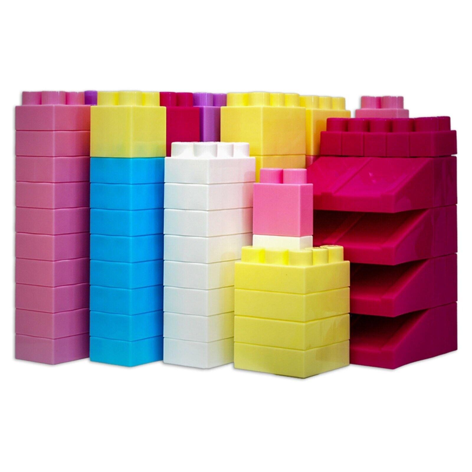 Mighty Big Blocks Set Assorted Größes, 100-Piece
