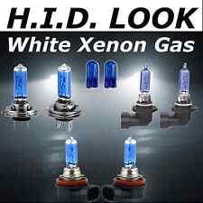 H7 HB3 H11 100w White Xenon HID Look High Low Fog Beam Headlight Bulb Pack