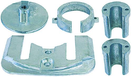 Stiefel Marine Mercury Bravo I (1) Zink Anode Set 1998-Present für Salzwasser