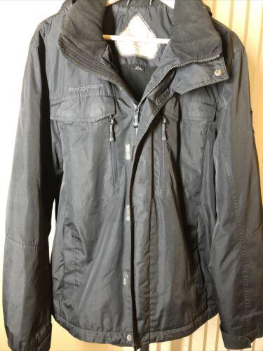 ZERO EXPOSURE mens Winter coat large - black g8212