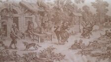 1 Yard Laura Ashley House Party La1036 Seamist Toile Drapery Sewing