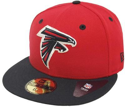 New Era Atlanta Falcons Black On Black 59fifty Fitted Cap Limited Edition