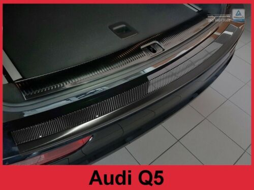 2006-2017 Audi Q5 SQ5 Graphite Stainless Carbon Fiber Bumper Protector Guard