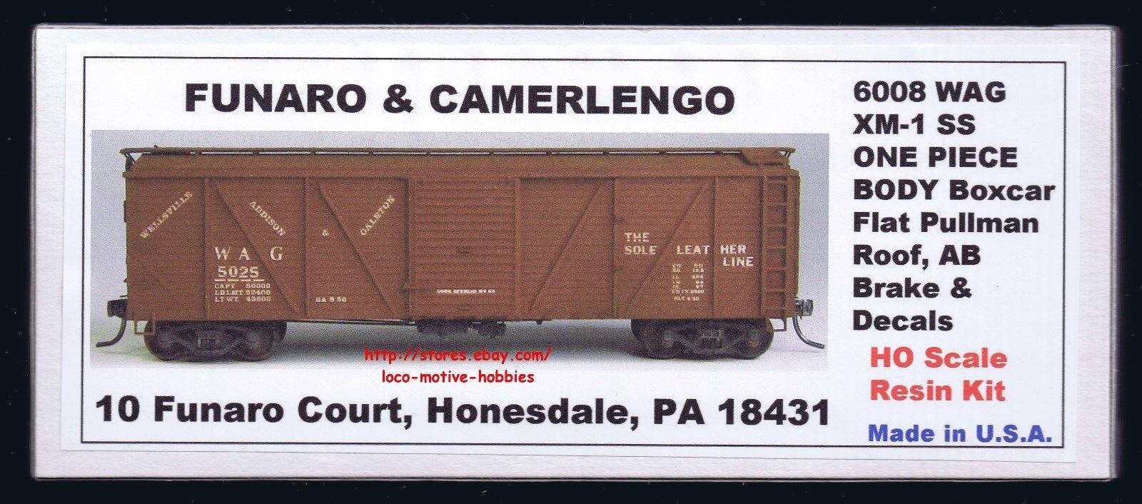 Lmh Funaro F&c 6008 Wellsville Addison Galeton 12,2 M M M XM-1 Holz Wag Boxcar Ab    Hohe Qualität  d14b15