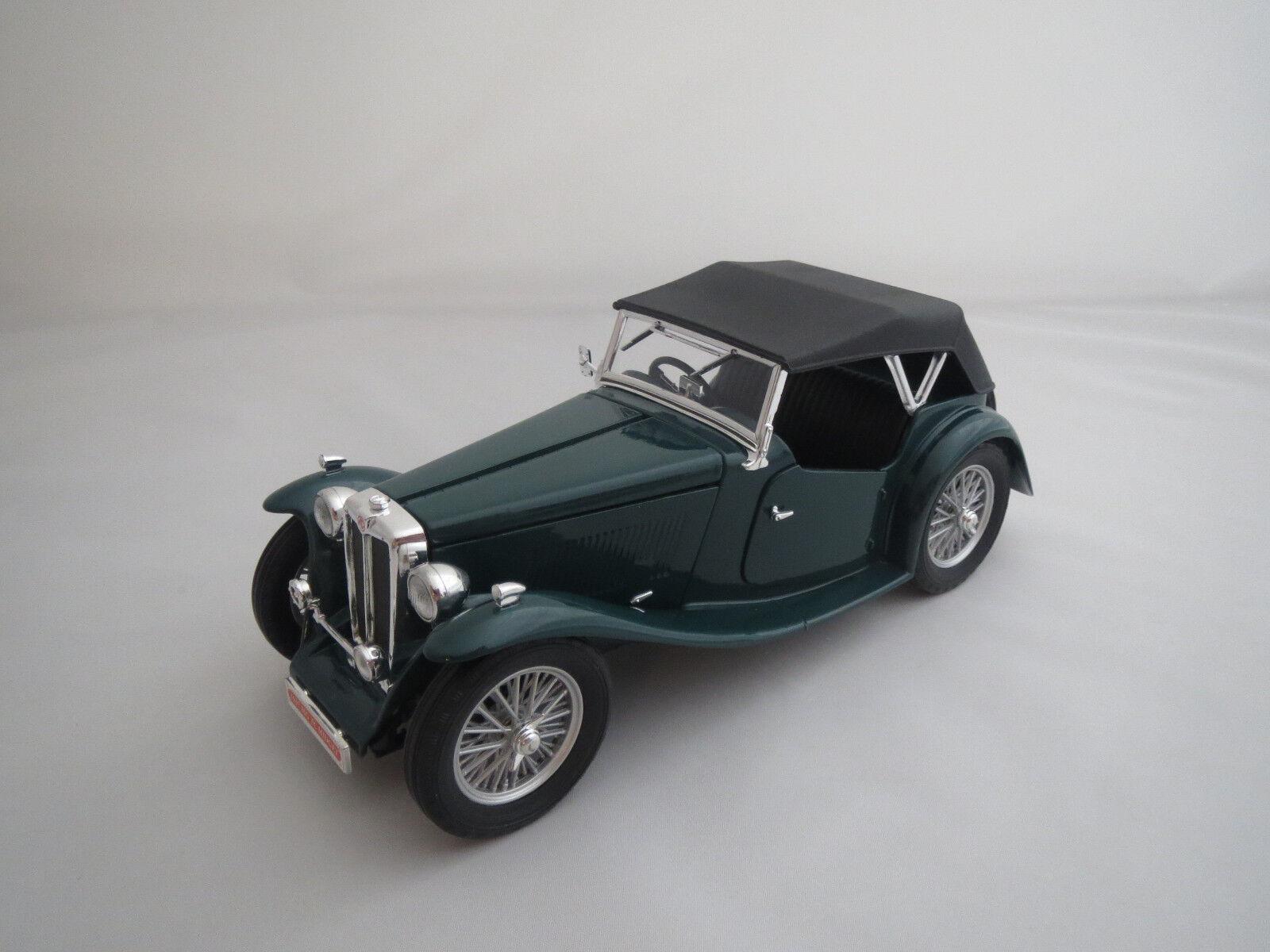 ROAD SIGNATURE  1947  MG TC Jot (Vert) 1 18 sans emballage