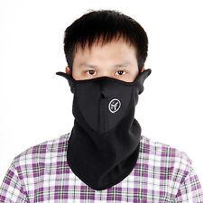 Maschera Mascherina Antivento Nero per Moto Bici Sci Pattinaggio