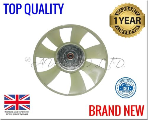 VW CRAFTER 2.5 2006-2017 Engine Cooling Fan Wheel BLADE Viscous Coupling Clutch