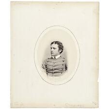 1865 Mathew Brady Albumen Photograph from the 1865 West Point Class Album