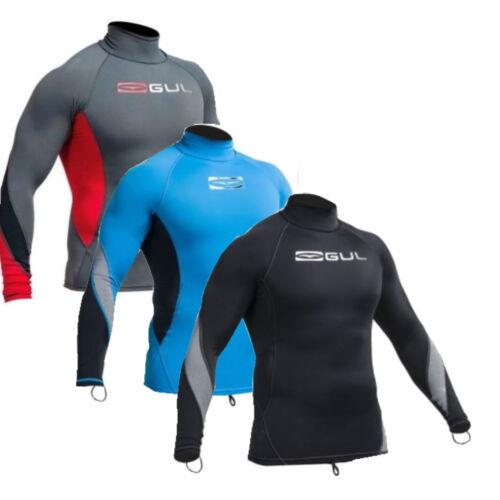 surf swim dive kayak rashguard GUL XOLA MENS LONG SLEEVED RASHVEST UPF50