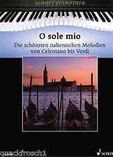 Klavier Noten : O sole mio - 30 Italienische Melodien (Pianothek) lemittel  - ms