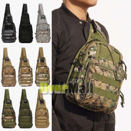 8L//10L//55L Outdoor Molle Military Tactical Camping Hiking Trekking Bag Backpack