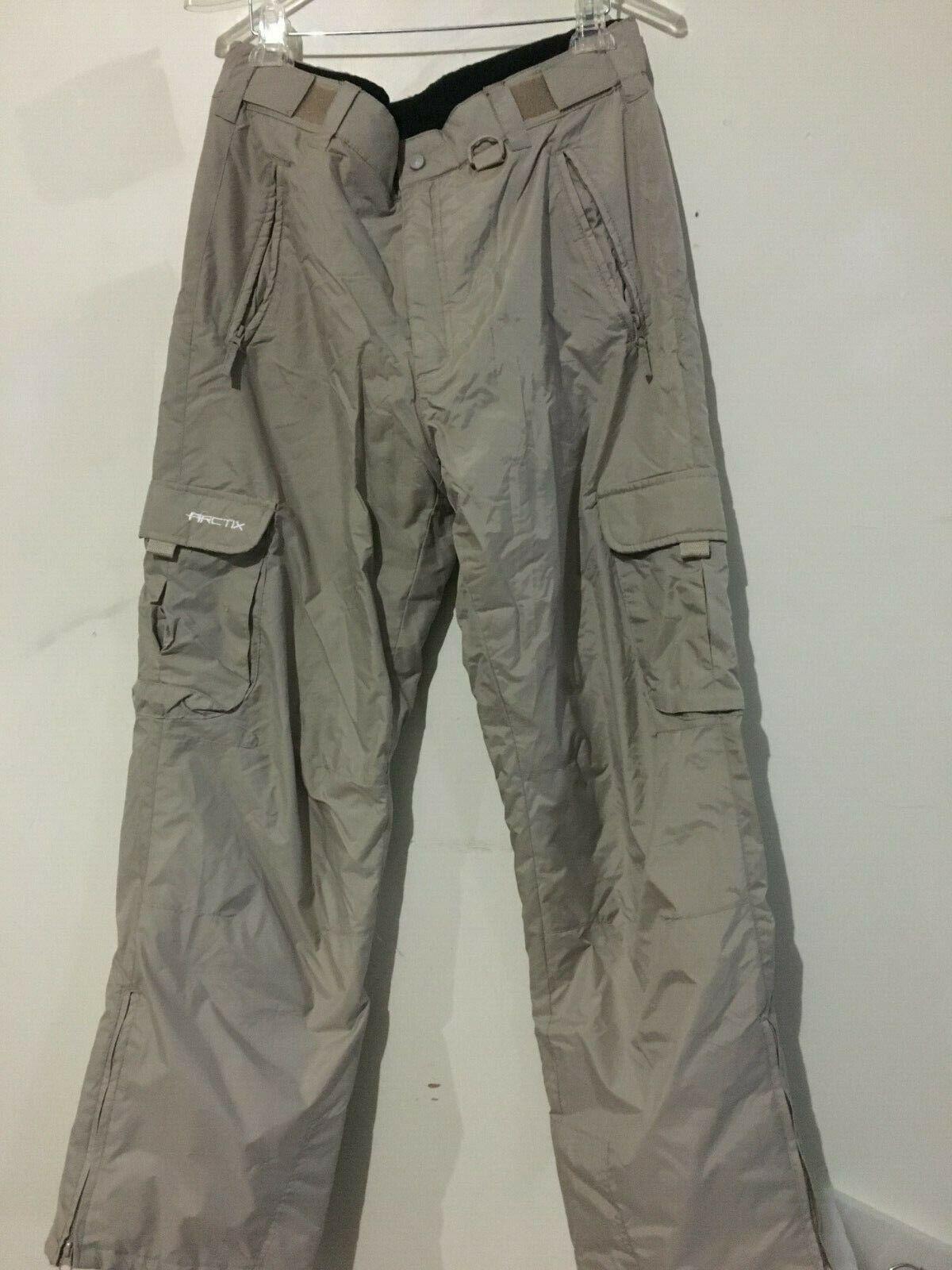 Arctix Men Tan Snow Ski Pant Double Layer Zip Ankle  Size L StyleBur1960  big sale