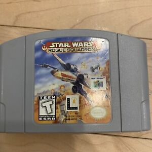 Star Wars Rogue Squadron Nintendo 64 N64  Authentic OEM TESTED FAST SHIPPED
