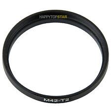 M42 to T T2 M42 1mm thread pitch - T T2 mm 0.75mm Coupling Ring Adapter For Lens