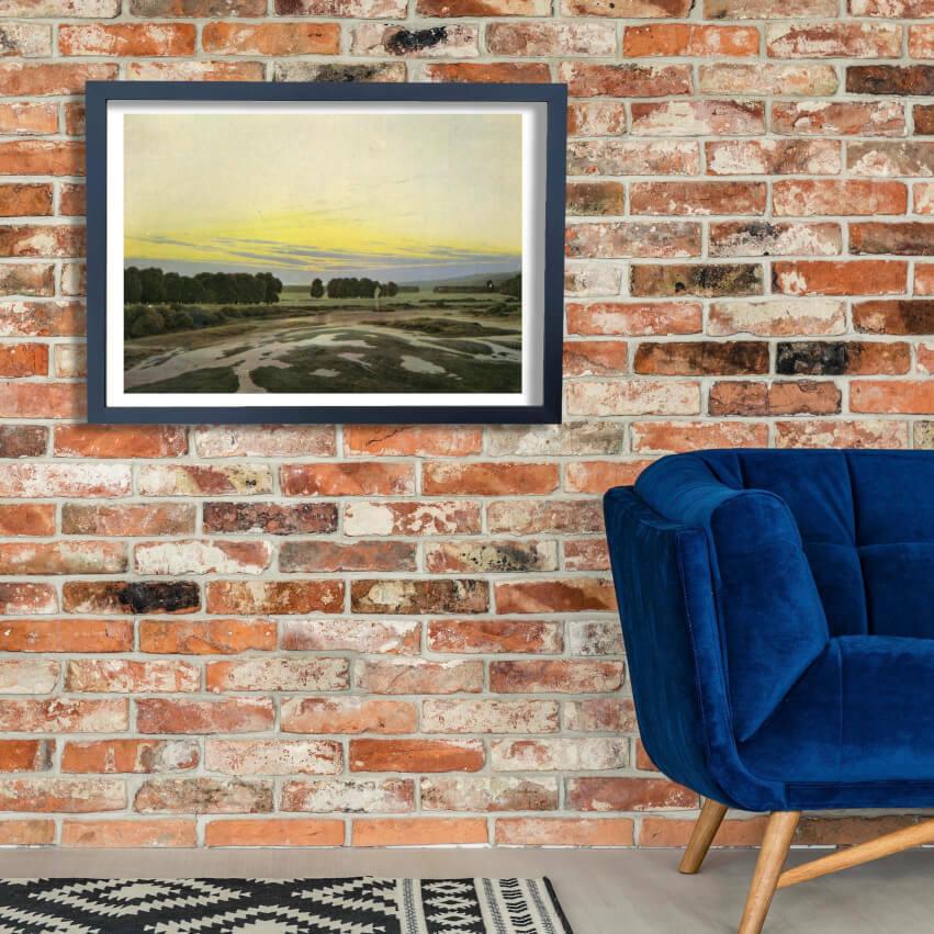 Caspar David Friedrich - The Great Reserve Wall Art Poster Print