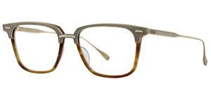 RARE-NEW-Genuine-DITA-OAK-18K-Antique-Gold-Amber-EyeGlasses-Frame-DRX-2085-B