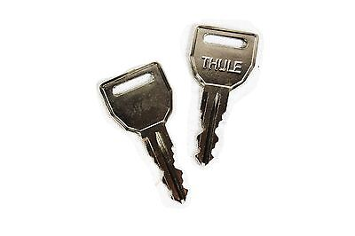 Pair of Thule N185 /'One-Key System/' replacement keys