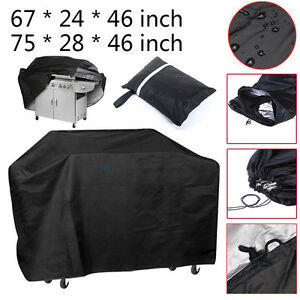 Waterproof-BBQ-Grill-Cover-67-034-75-034-Gas-Barbeque-Outdoor-Rain-Anti-Dust-Protector