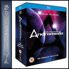 ANDROMEDA - THE COMPLETE COLLECTION   **BRAND NEW BLURAY BOXSET**