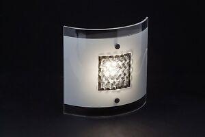 Brilliant AG Harvey Wandleuchte LED 300 Lumen Metall/Glas 5 W chrom/weiß