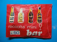 RACCOLTA MINIBAR - Bustina ROSSA L.50 -New