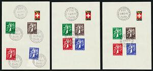 SCHWEIZ-1939-PTT-Sammelblaetter-14-SBK-CHF-450