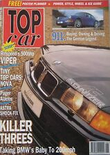 Top Car 06/1993 featuring Rinspeed Dodge Viper, Westfield, Porsche, Isdera, BMW