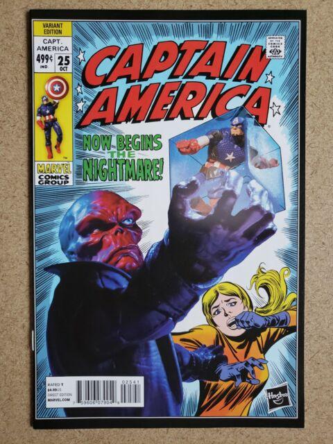 Captain America #25 115 Homage Variant Hasbro 1st Appearance Sam Wilson as Cap