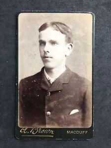 Victorian-Carte-De-Visite-CDV-Young-Gentleman-Brown-Macduff