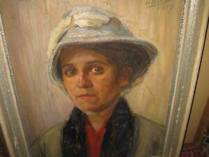 DUCAS-Henry-XIX-Jhd-Damenportrait-1917-HAUPTWERK