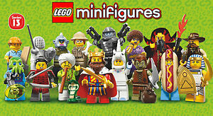 LEGO Minifigures #71008 - Series 13 Complete - Collector - NEW / NEUF - Sealed