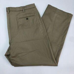 Dockers-D4-Signature-Khaki-Pants-Mens-40X32-Khaki-Tan-Relaxed-Fit-Pleated-Front