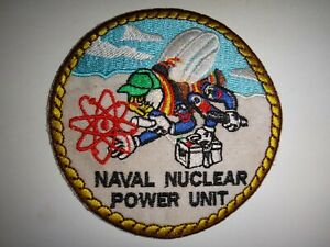 US Navy Patch NAVAL NUCLEAR POWER UNIT Seabees