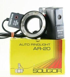 Soligor Auto Ringlight ar-20 ar20 AR 20 macro Macro Ring Flash Flash Flash-OVP