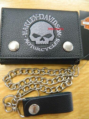 HARLEY-Davidson Portafoglio Portafoglio Portafoglio Wallet Catena/duro denaro xml6187