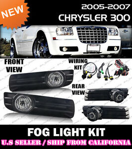 s l300 complete] fog light kit for 05 06 07 chrysler 300 switch wiring