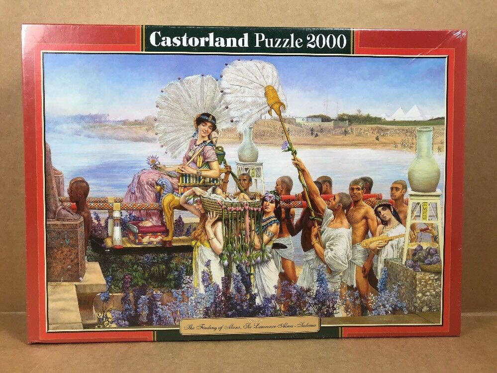 Castorland  The Finding of Moses, Sir Lawrence Alma jadema  Puzzle (2000 pièces)
