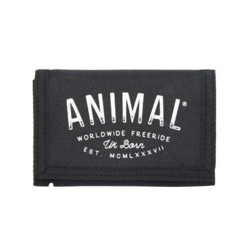 Animal Ambush 3 Leaf Men/'s Wallet DW8SN014//002 Black NEW NO PACKAGING