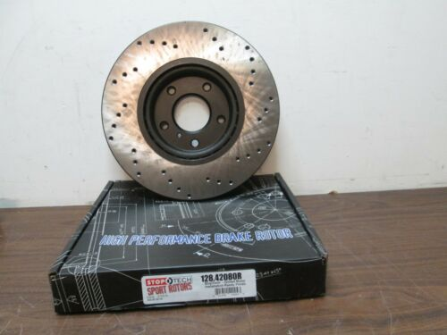 NEW Centric Parts 128.42080R Front Drilled Brake Rotor Free Shipping
