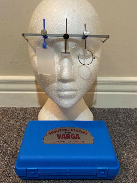 Varga 2000 23mm Rifle Shooting Frame Left eye w/ ISSF eyeshield & case