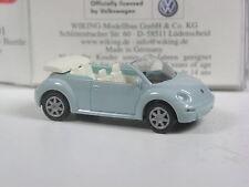 wunderschön: Wiking Serienmodell VW Beetle Cabrio pastellblau in OVP