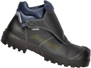 Details about Zapatos calzado seguridad soldador botas trabajo cofra welder bis uk s3 hro src show original title
