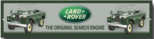 "LANDROVER /""THE ORIGINAL SEARCH ENGINE/"" METAL SIGN,WORKSHOP,GARAGE SIGN.OFF ROAD"