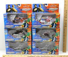 6 American Choppers 1:18 Diecast Motorcycles Black Widow+Christmas Bike+Lucy's