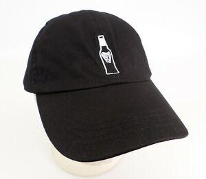 Guinness-Draught-Stout-Beer-Hat-Cap-Harp-Ireland-Brewery-Bottle-Black-Strapback