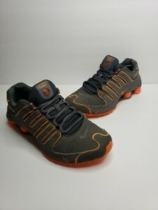 Nike-Shox-NZ-LE-378341-080-Dark-Grey-Total-Orange-Size-10-5-Authentic-2012