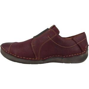Details zu Josef Seibel Fergey 23 Schuhe Damen Halbschuhe Leder Slipper bordo 59695 796 411
