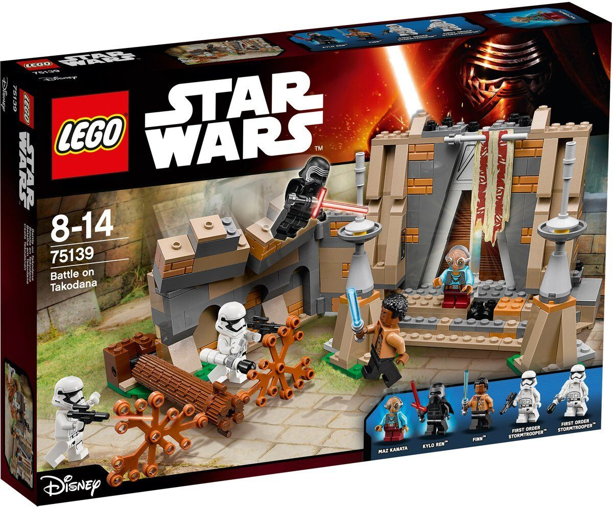 Lego 75139 Battle on Takodana Lego Star Wars NEW in box