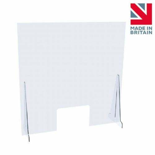 Sneeze Guard Shop Screen Checkout Counter Cough Protection Perspex Virus Shield